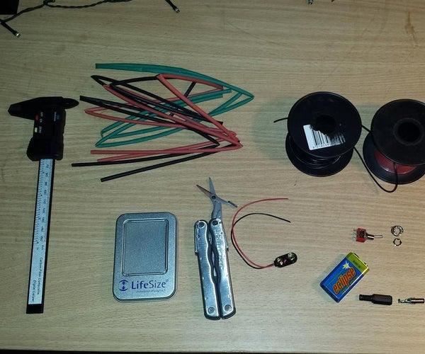 Power Arduino From 9V Battery Inc Case