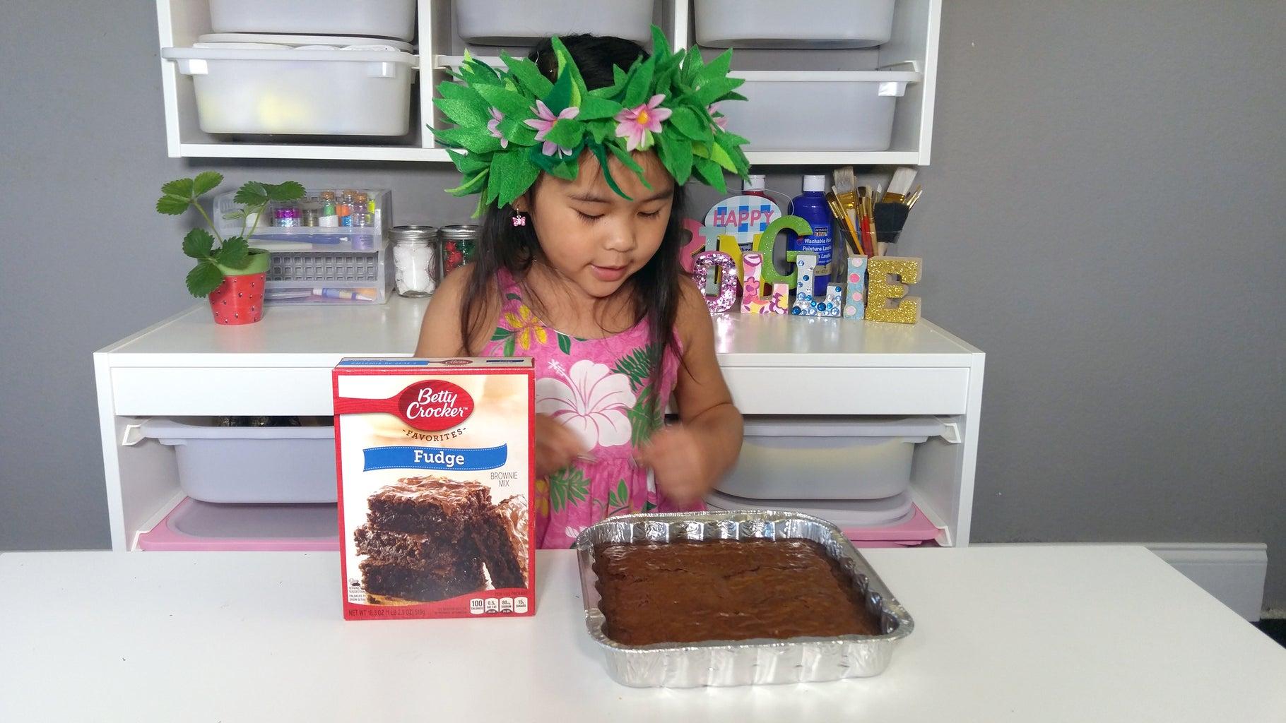 Make the Brownie (or Cake)