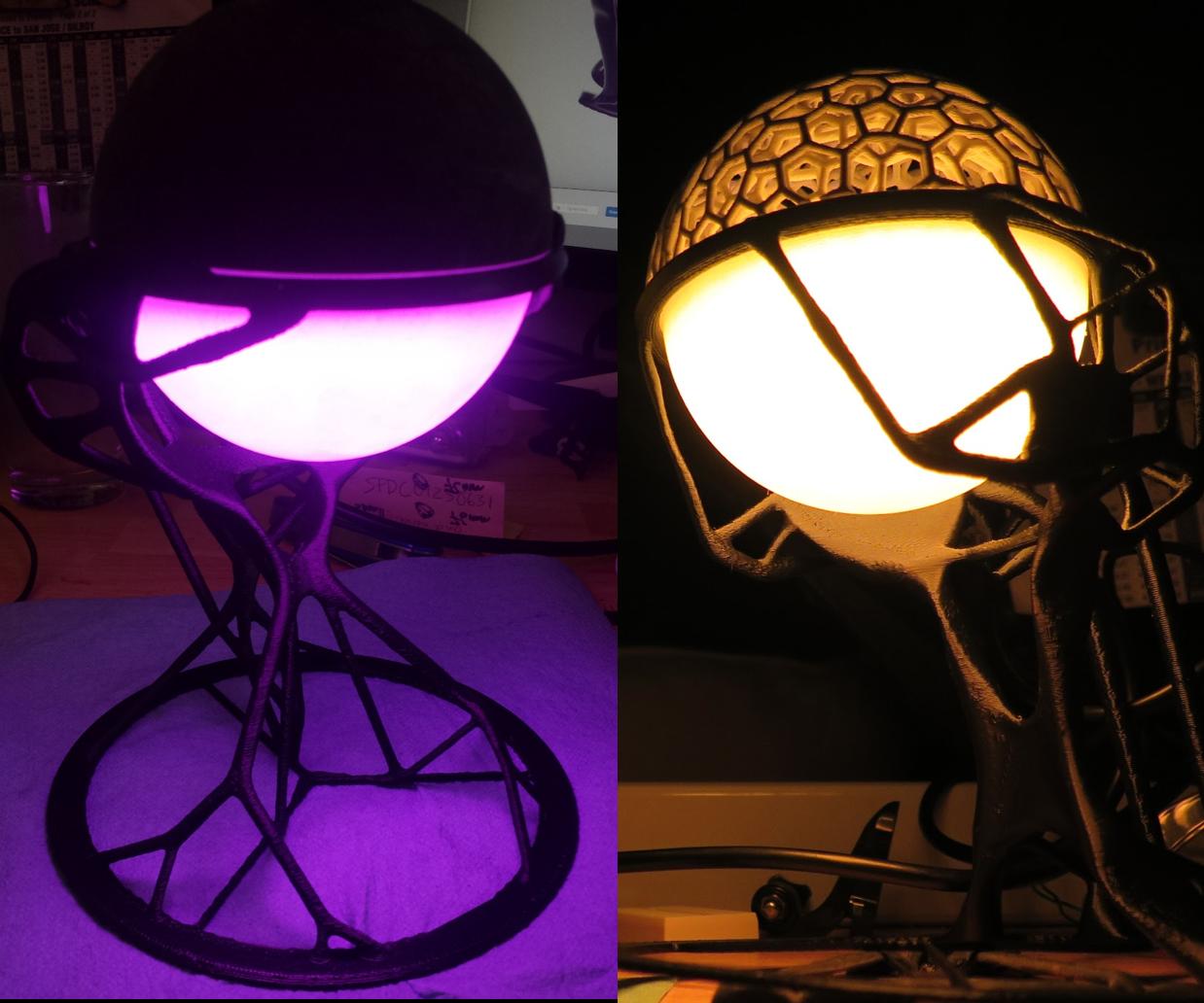 Computational Millennium - Evolution of a Dreamcatcher Lantern