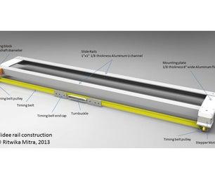Ultimate Opensource Computerized Slidee Rail Contruction (part 1)