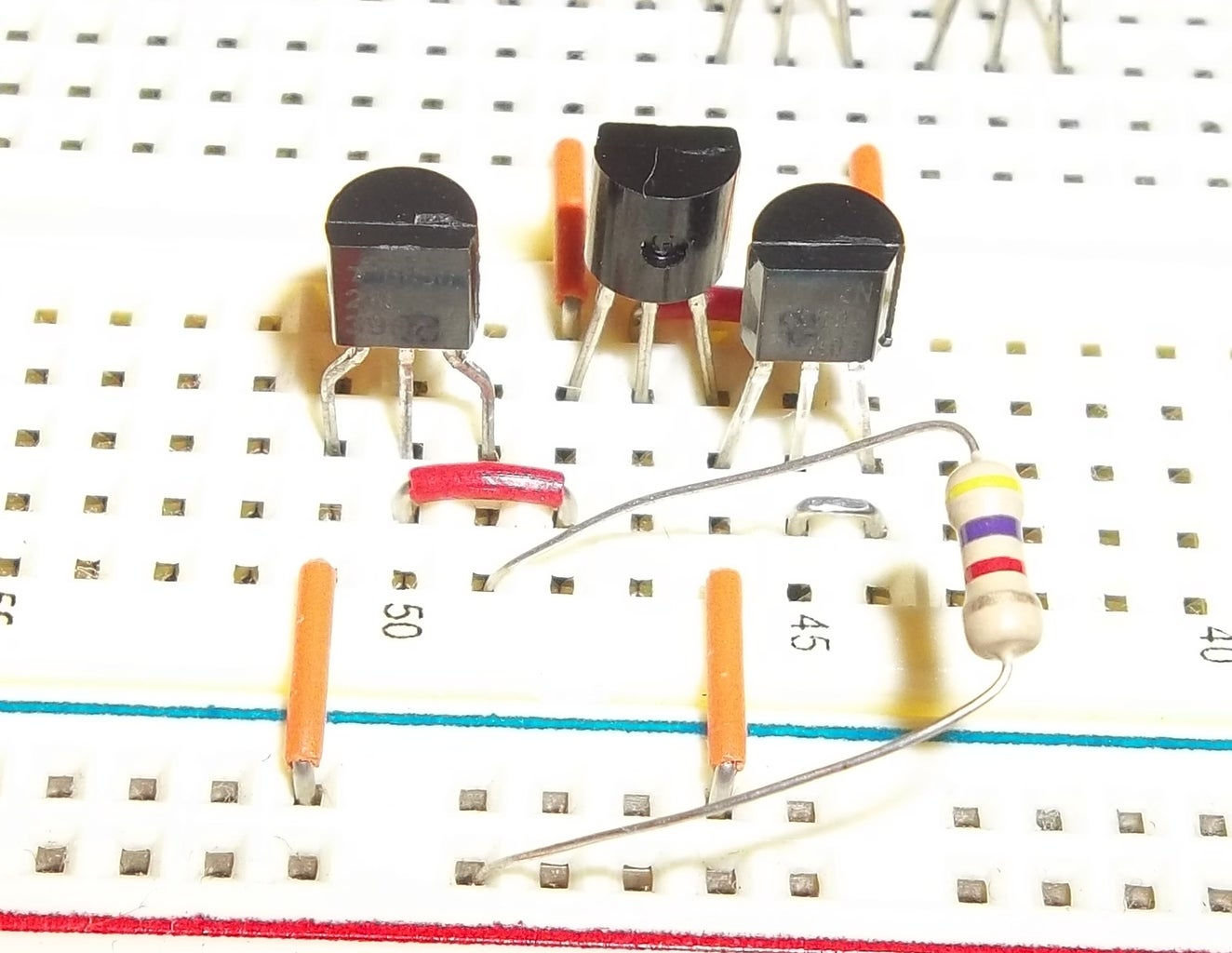Building the Trigger Comparator