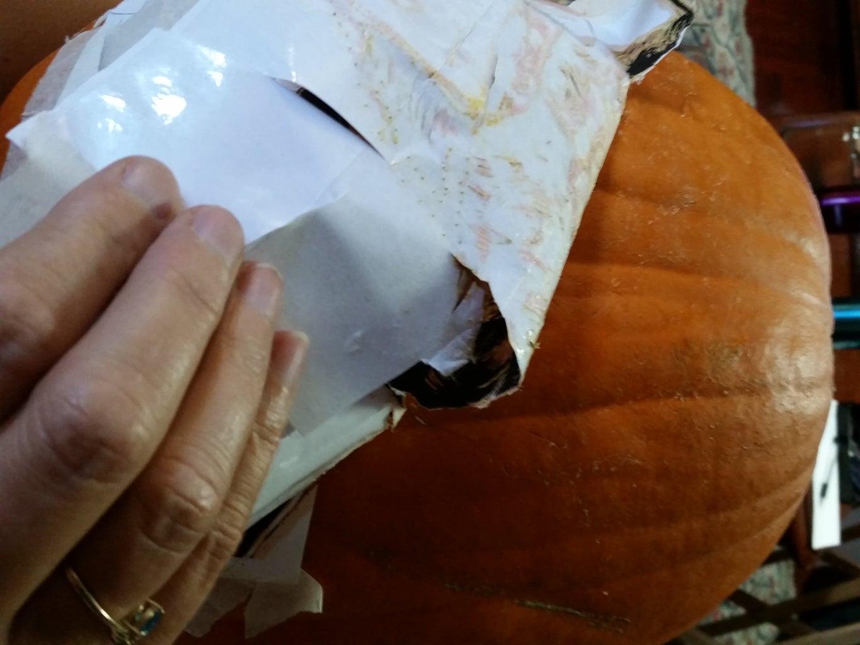 Peel Off the Paper