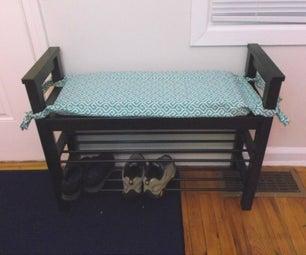 Washable Bench Cushion