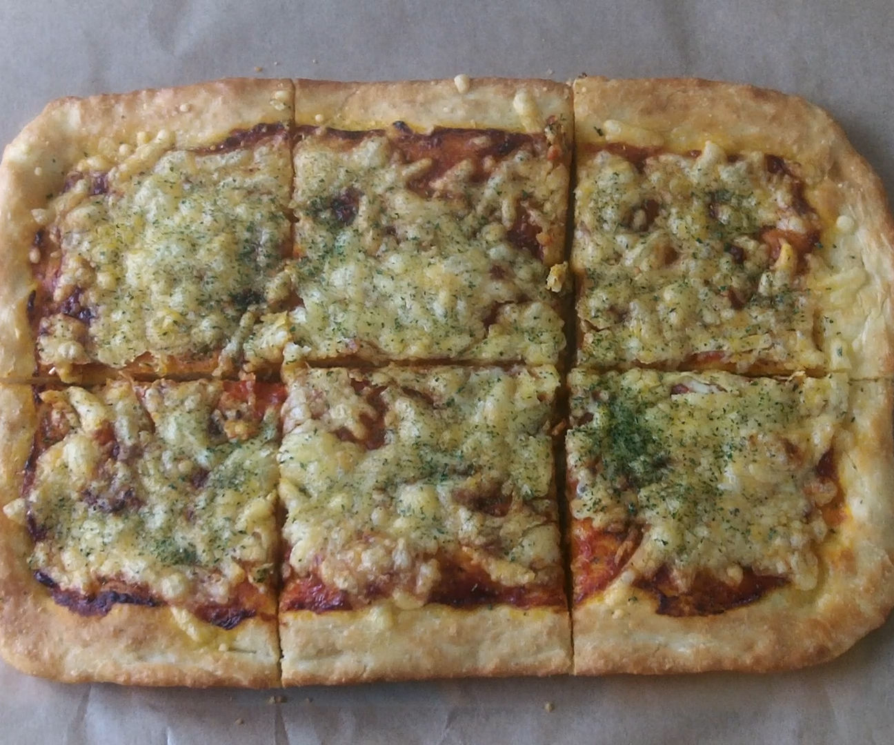 Super Fast Pizza from Scratch - no mixer & easy clean recipe