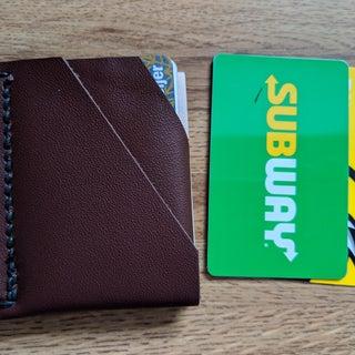 Make a Slim Leather Wallet