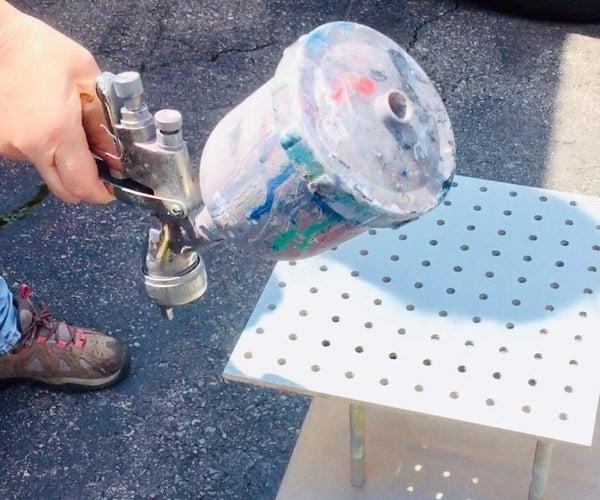 Learn How to Paint With an Air Spray Gun!