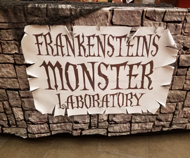 Monster Laboratory- Workplace Decorations