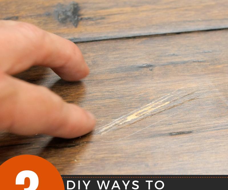 3 DIY Way to Fix a Scratch in Hardwood Floors