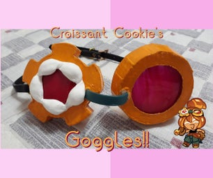 Life-Sized Croissant Cookie's Goggles! [Cookie Run]
