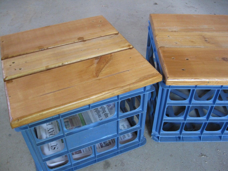 File Crate Seat
