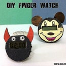 ||DIY FINGER WATCH||