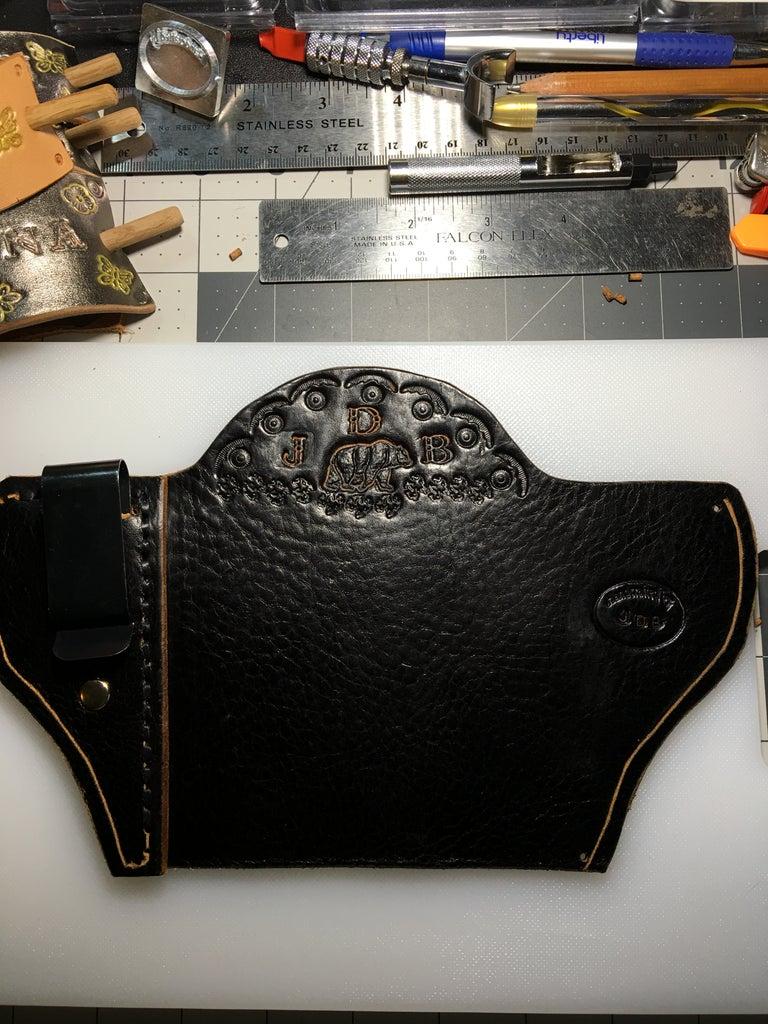 IWB Holster for Taurus 357 Magnum Snub Nose