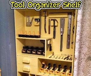 Tool Organizer Shelf