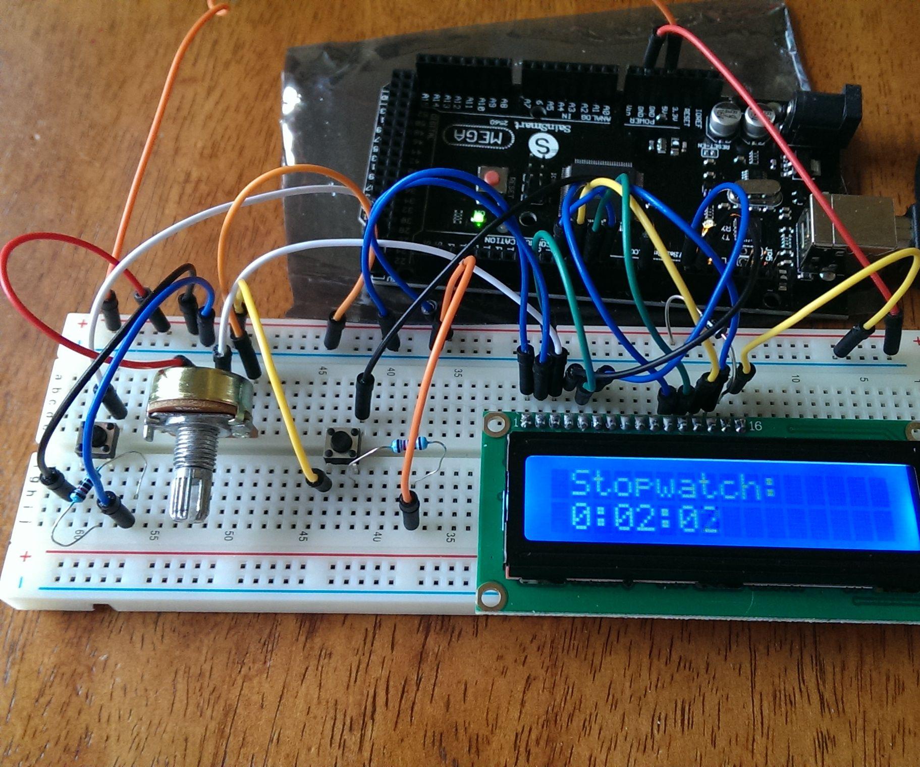 Start Up Guide: Arduino Stopwatch
