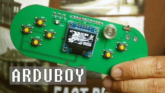 Handheld Gaming Console   Arduboy Clone