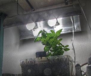 Cheap DIY CFL Grow Light