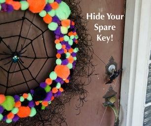 Spare Key Spider Web