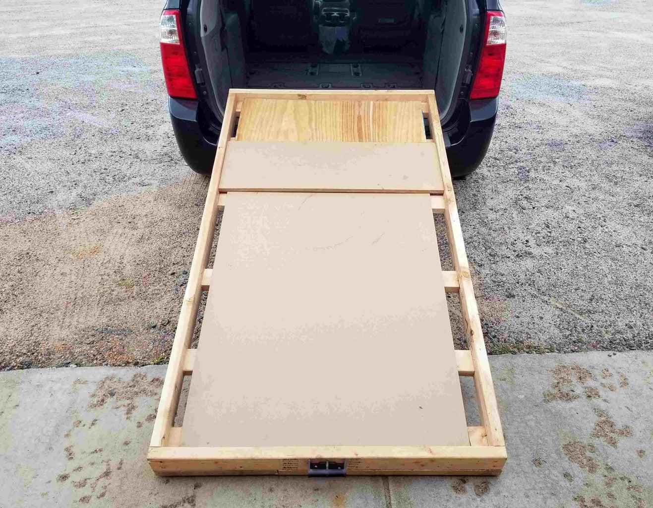 Wheeled Van Bed