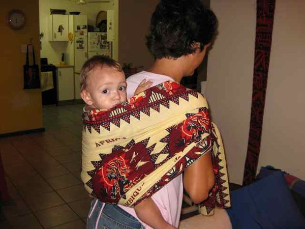 How to Carry Your Baby African Style