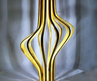 Cnc Wood Sculpture // Floor Lamp