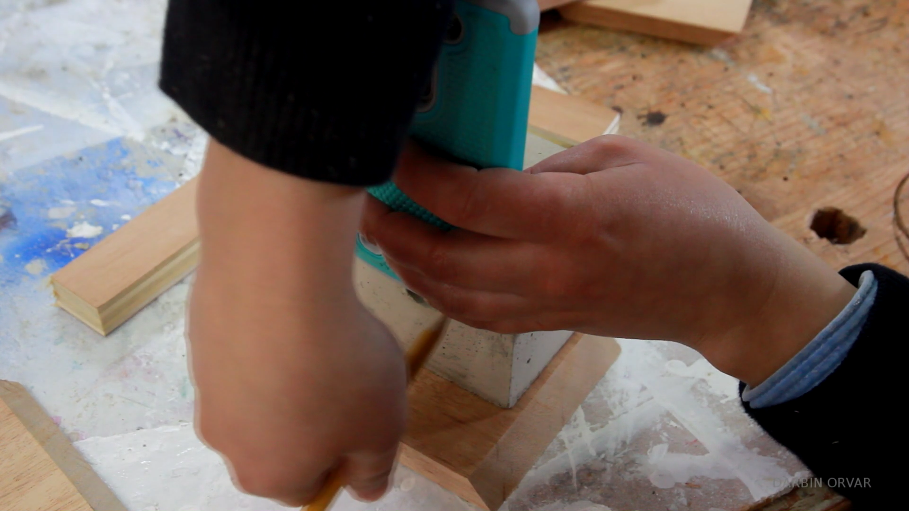 Gluing the Support Pieces