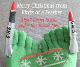 Ugly Christmas Sock Contest!