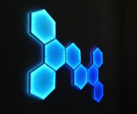 DIY Hexagonal Nanoleaf LED Light