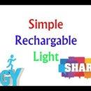 Simple Rechargable Light