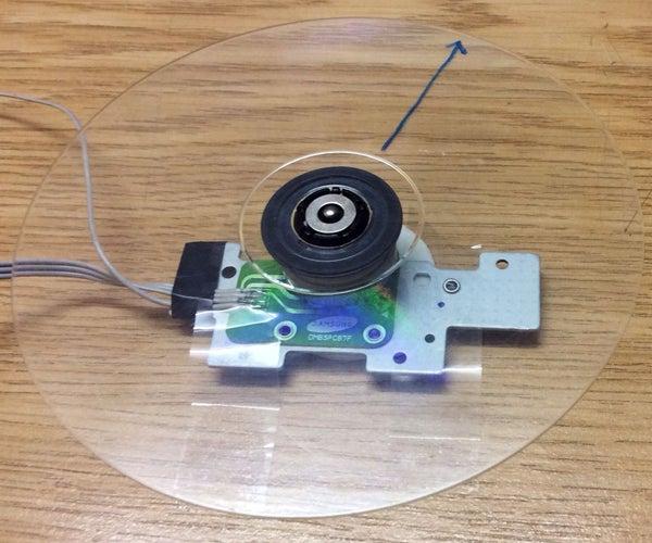 Arduino CDROM BLDC Motor Driver, Enhanced Performance