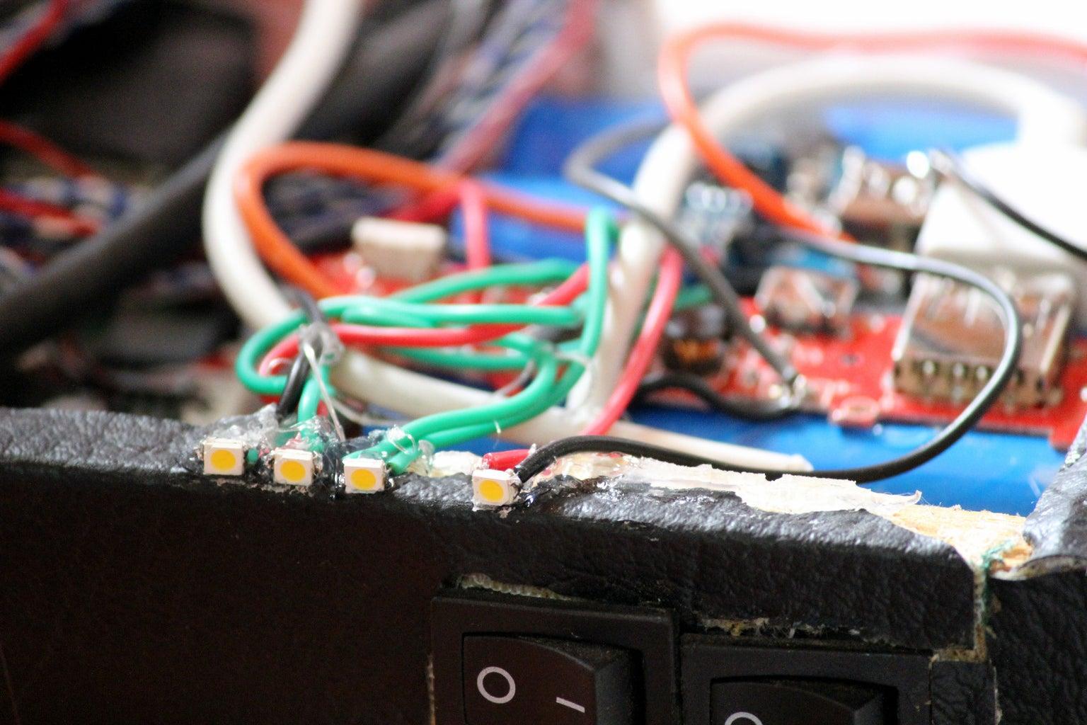 Charge Indicator LED's (charge Status Indicator)