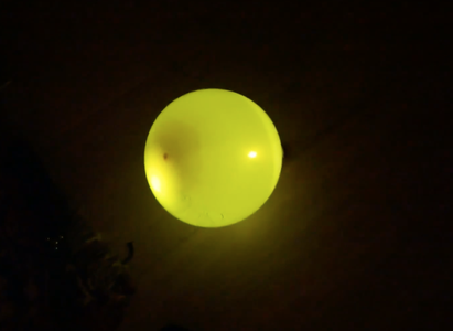 Put the LED in the Balloon