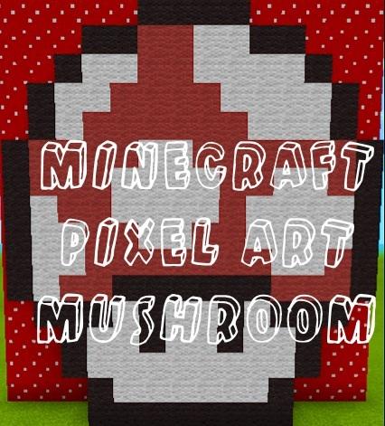 Minecraft Pixel Mushroom