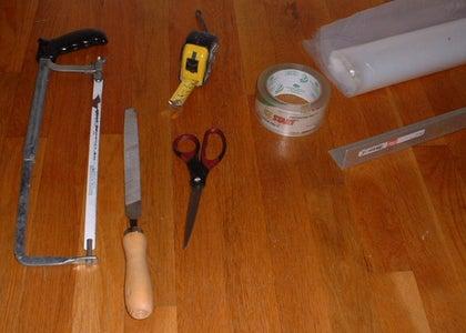 A) Enclose the Stall: Materials & Tools.