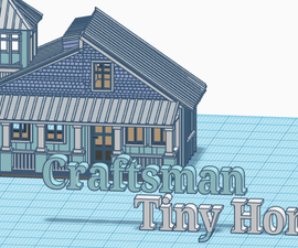 Craftsman Tiny Home: Scene