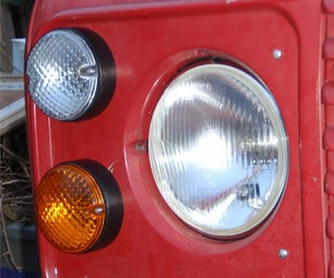 Upgrading the Exterior Lights on a Landrover Defender to NAS. (Part 2 of 3)
