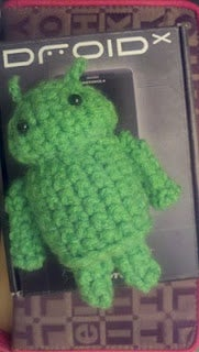 Andy the Android Amigurumi