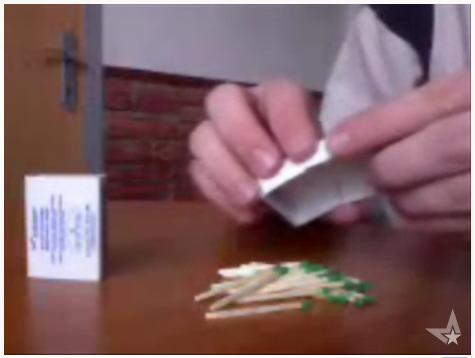 Simple Trick With Matches