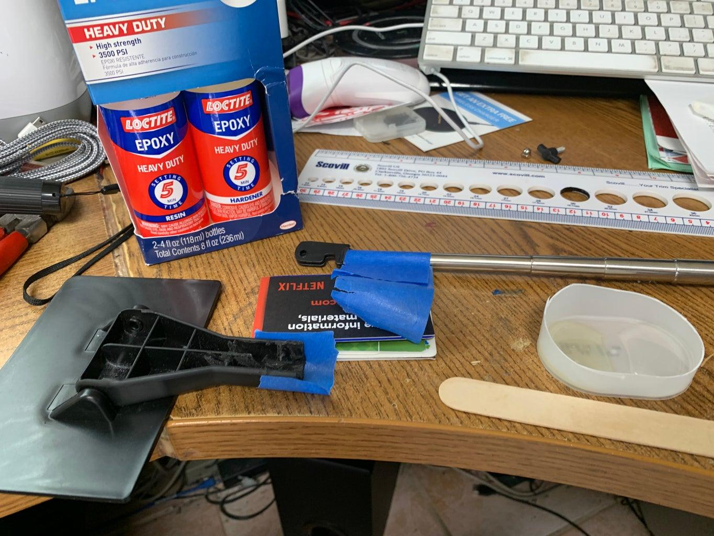 Glue, Glue, Glue Your Stick ...