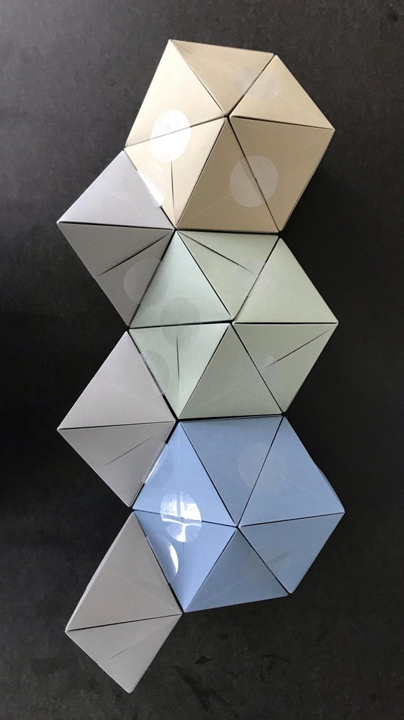 The First Stellation of the Rhombic Dodecahedron