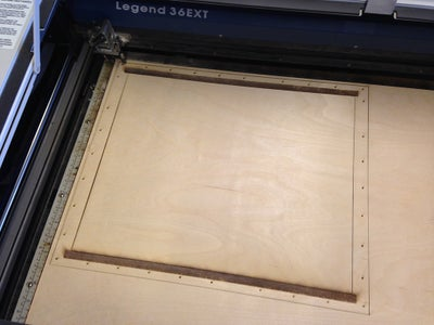 Design and Cut the Screen Plate for the Top