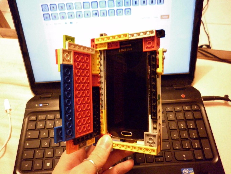 Samsung Galaxy S4-Mini: Lego Case