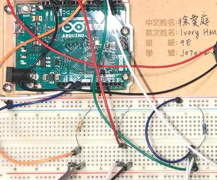 Arduino Light on and Off