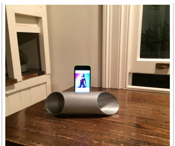 PVC Phone Speaker Amplifier