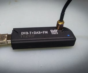 SDR RTL Dongle Antena Mod