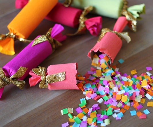 DIY Confetti Party Poppers