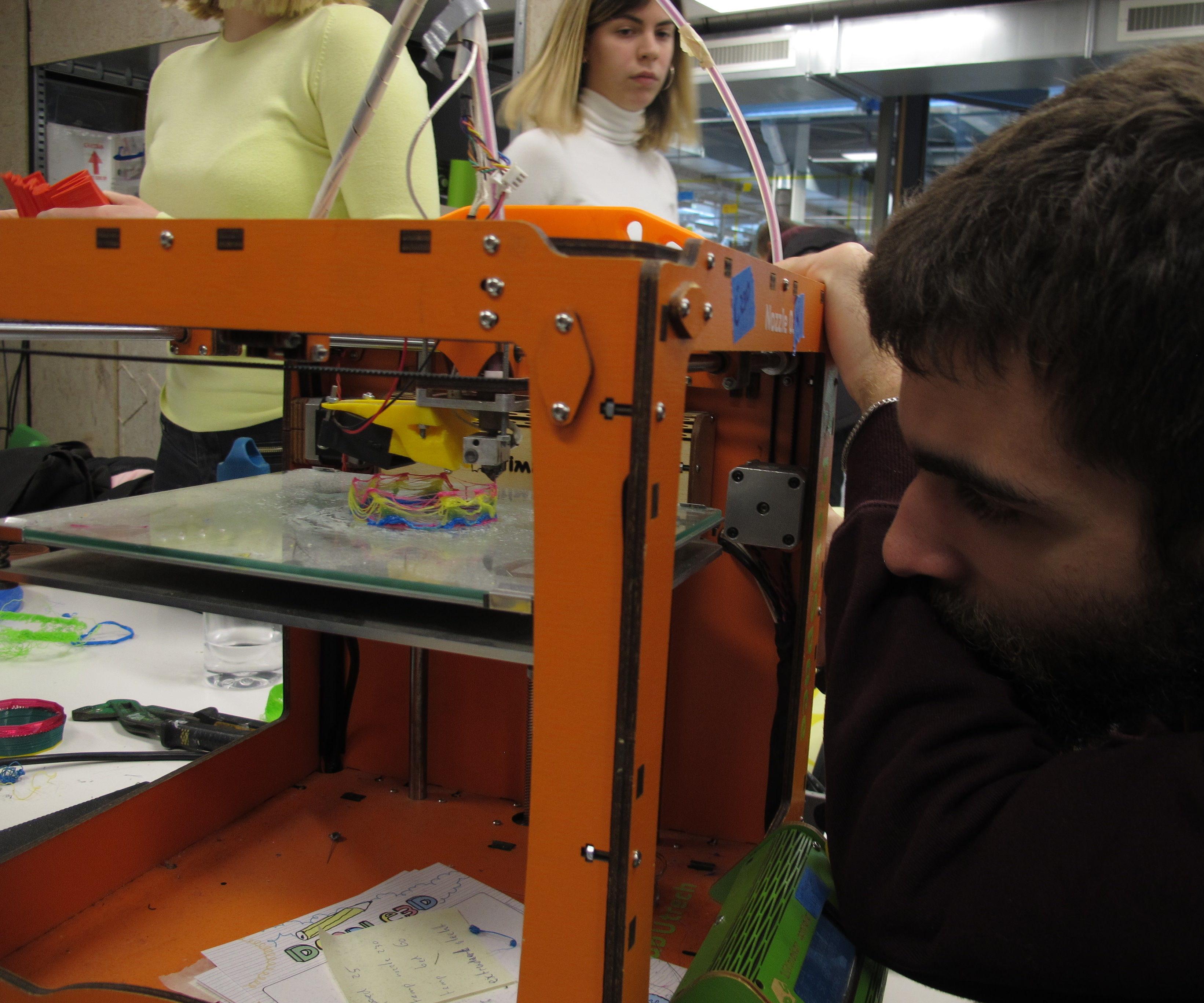 3D Printing Experiments.