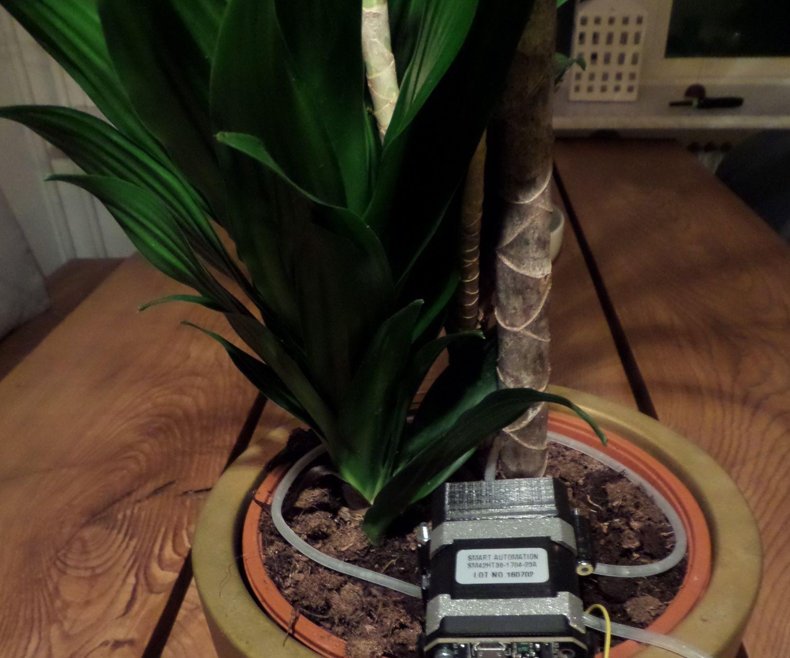 Flower Pot Watering System