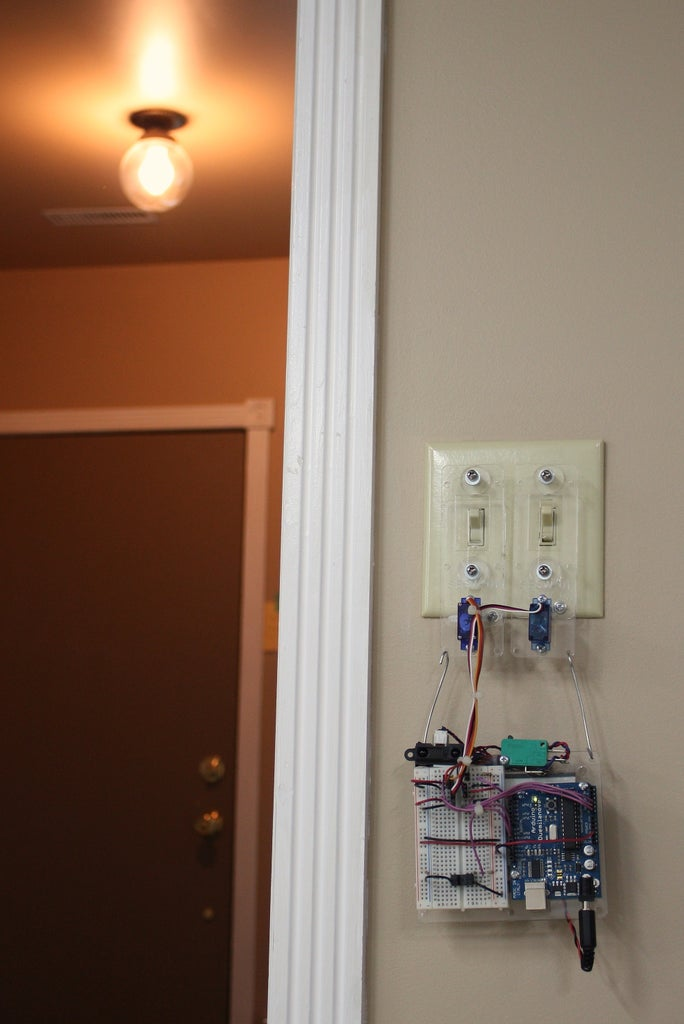 Easy DIY Home Automation (using Servo Switches)