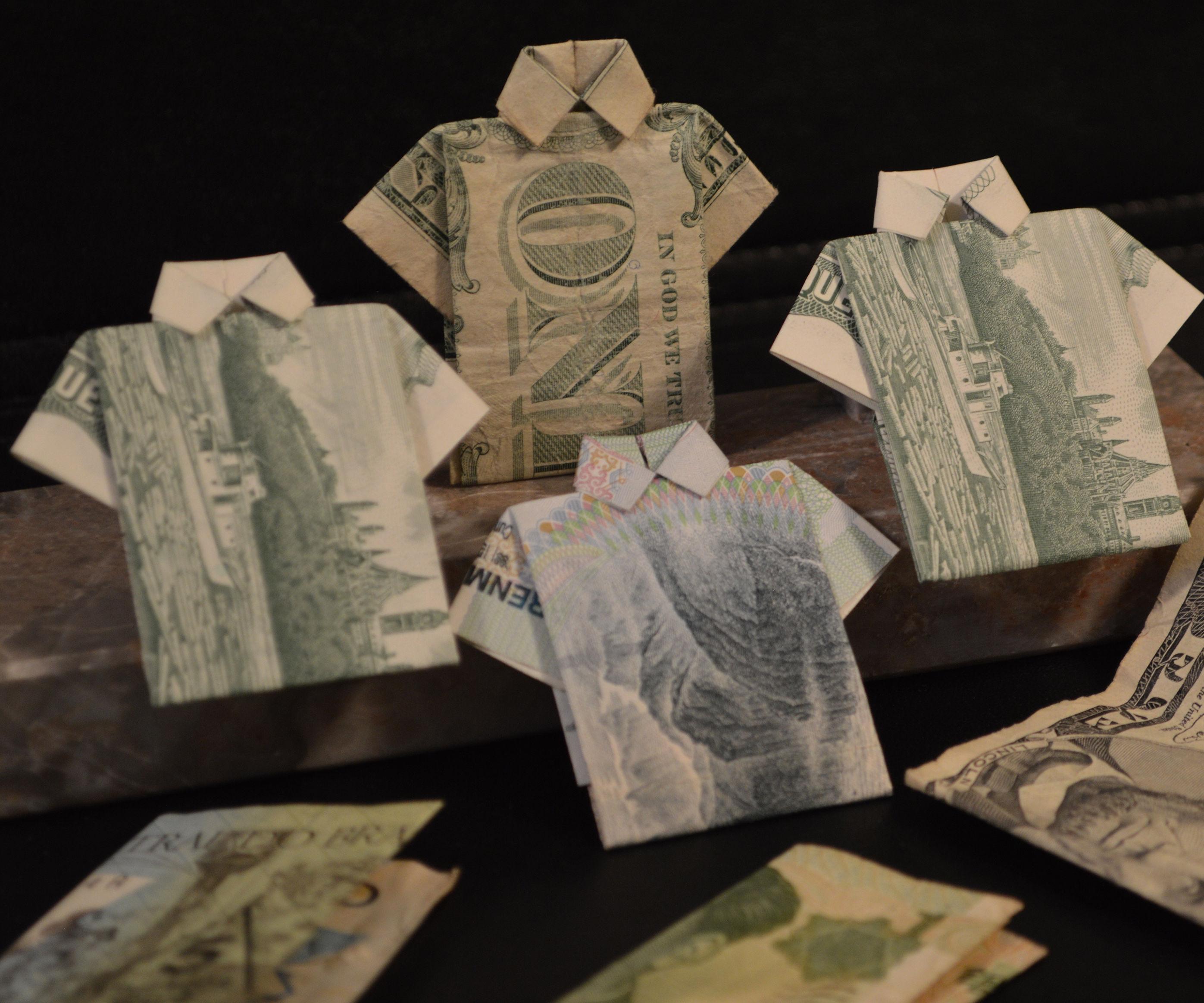 How to Make a Dollar Bill Shirt