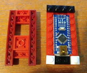 Lego Arduino Nano Without Header Pins Housing